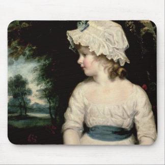 Simplicity - A Portrait of Miss Theophilia Ghatkin Mousepad