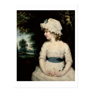 Simplicity - A Portrait of Miss Theophilia Ghatkin Postcard