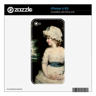 Simplicity - A Portrait of Miss Theophilia Ghatkin Skins For The iPhone 4S
