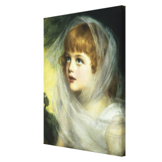 Simplicity and Innocence, 1900 Canvas Print