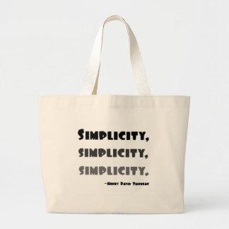 Simplicity Canvas Bag