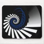 Simplicity Blue Mousepad
