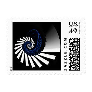 Simplicity Blue Stamp