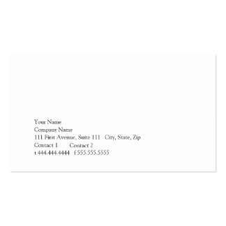 Simplicity Double-Sided Standard Business Cards (Pack Of 100)