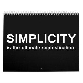 Simplicity Calendar