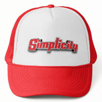 Simplicity Garden Tractor Equipment Art Hat