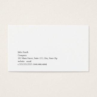Simplicity II Business Card