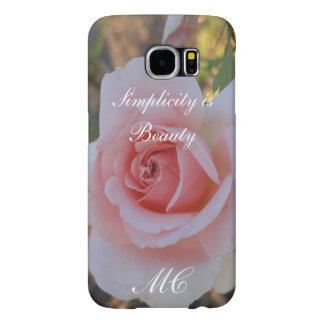 Simplicity is Beauty Samsung Galaxy S6,BarelyThere Samsung Galaxy S6 Case