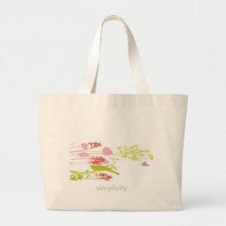 Simplicity Large Tote Bag