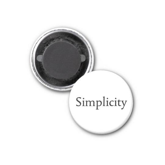 Simplicity Magnet