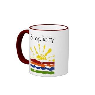 Simplicity Mug mug