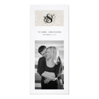 Simplicity Program Cover 4x9.25 Paper Invitation Card
