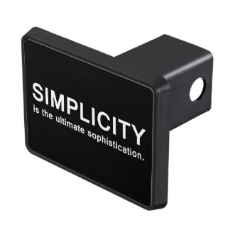 Simplicity Tow Hitch Cover