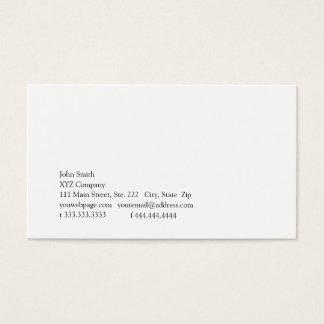 Simplicity V Business Card