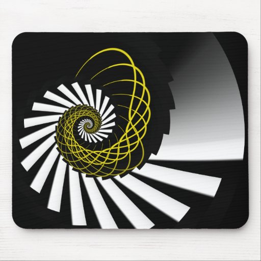 Simplicity Yellow Mousepad