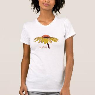 Simplifique - la camiseta para mujer del algodón