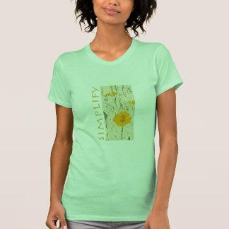 Simplifique Camisetas