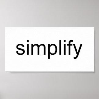 Simplify Print
