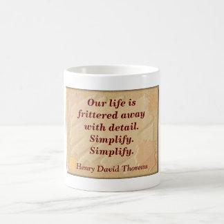 Simplify Simplify - Coffee mug