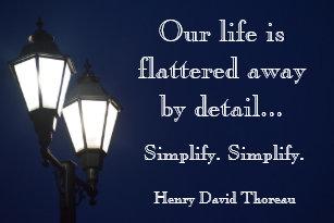 Simplify Thoreau Gifts On Zazzle