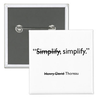 Simplify square button