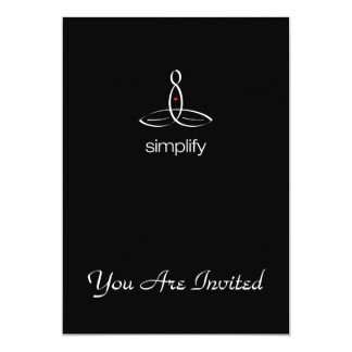 Simplify - White Regular style Card