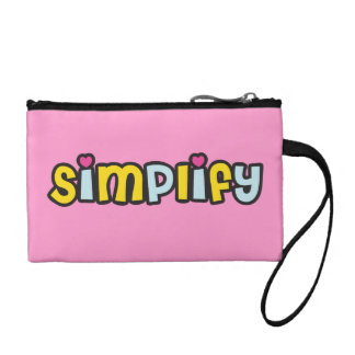 Simplify with Hearts Coin Purses