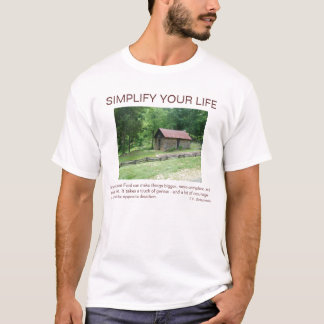 SIMPLIFY YOUR LIFE, Any Intelligent F... T-Shirt
