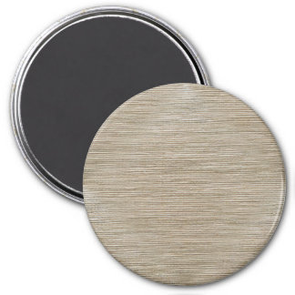 Simplistic brown and white weave magnet