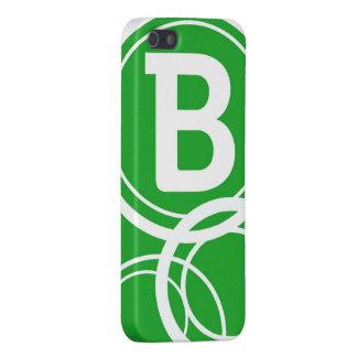 Simplistic Circles - B Case For iPhone SE/5/5s