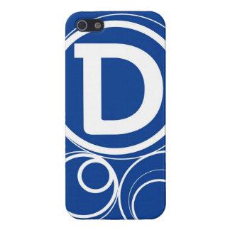 Simplistic Circles - D iPhone SE/5/5s Cover