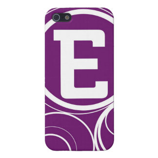 Simplistic Circles - E Cover For iPhone SE/5/5s
