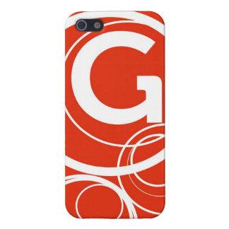 Simplistic Circles - G iPhone SE/5/5s Case