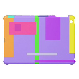 Simplistic Colorful Design Amethyst Cover For The iPad Mini
