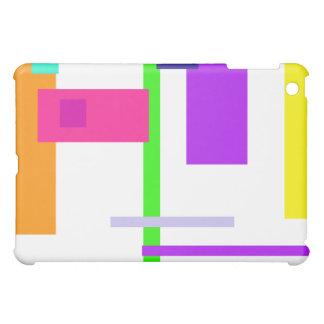 Simplistic Colorful Design iPad Mini Covers