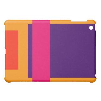 Simplistic Decisive Design Amber iPad Mini Case