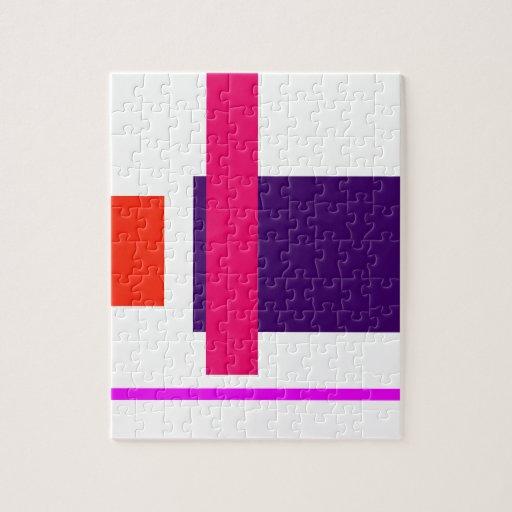 Simplistic Decisive Design Jigsaw Puzzle