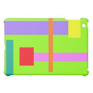 Simplistic Minimal Design Green Field Cover For The iPad Mini