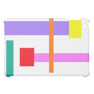 Simplistic Minimal Design Pink iPad Mini Case