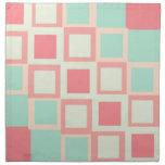 Simplistic Patterns Cloth Napkins