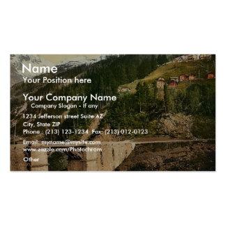 Simplon Pass Berisal Valais Alps of Switzerlan Business Cards