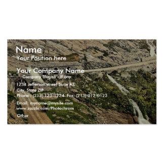 Simplon Pass Kaltwasser Gallerie Valais Alps of Business Cards
