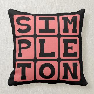 Simplón persona básica almohadas