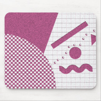 Simply 80s in Pink Mousepad