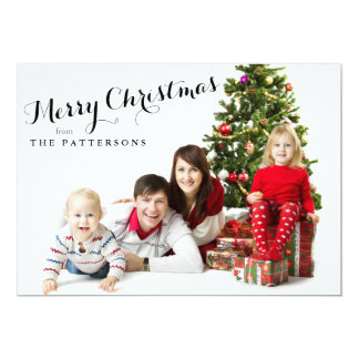 Simply a Merry Christmas Holiday Photo Card