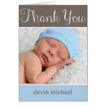 Simply Adorable Baby Thank You Card Greeting Card