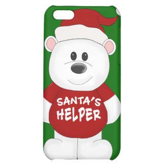 Simply Adorable Christmas Teddy Bear Art iPhone 5C Cover