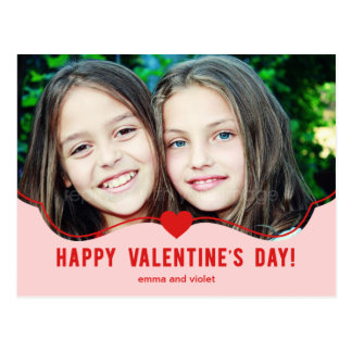 Simply Adorable Valentine's Day Card Postcards