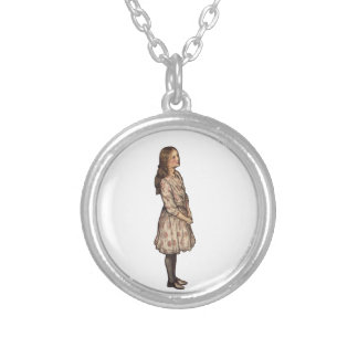 Simply Alice by Arthur Rackham Silver Plated Necklace