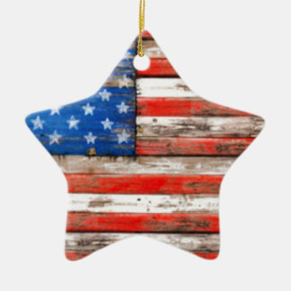 Simply American Ceramic Ornament